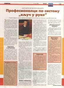 PRODIREKT Dejan Trpkovic Interview in Politika