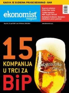 Cover page Ekonomist magazine, Issue 361