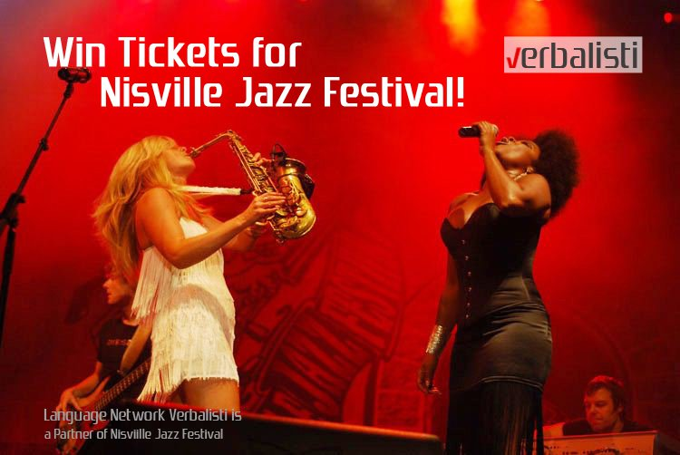Verbalisti Supporting Musical Education at the Famous Regional Nisville Jazz Festival
