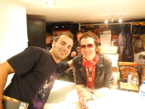 Ivan Radenov and Glenn Hughes