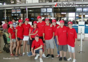 Verbalisti young learners leaving for Malta