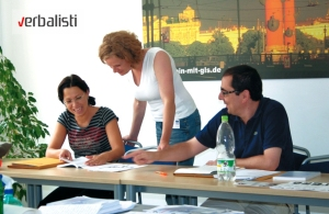 Verbalisti German language teacher training in Berlin with GLS