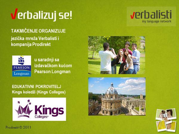Verbalize Yourself! and win a language trip to Oxford with the Verbalists