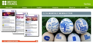 ELTA Newsletter features Prodirekt and language network Verbalisti