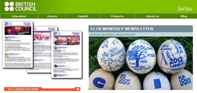 ELTA Newsletter features Prodirekt and language network Verbalisti