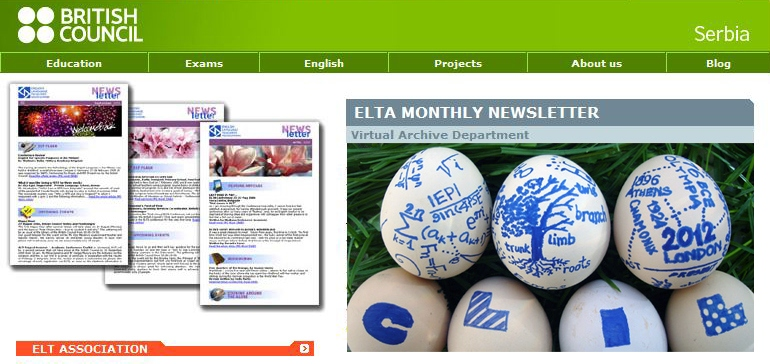 ELTA in Serbia, English language learning through social media and entertainment