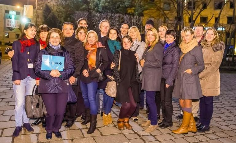 Educators and Agents Experiencing Vienna
