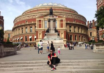 At Royal Albert Hall
