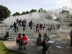 At Serpentine Gallery Pavilion