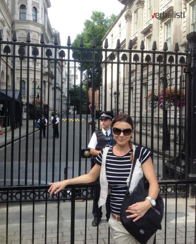 Ivana, Downing Street, London