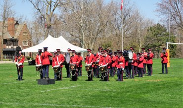Ridley College cadets on parade, PRODIREKT