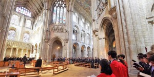 Ely Cathedral has centuries of close links with King's Ely school